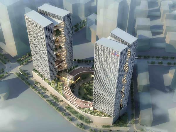 百度国际大厦-钢筋桁架楼承板
