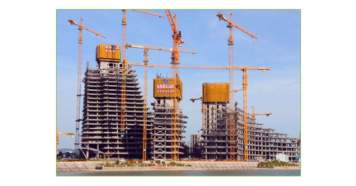 厦门东南航运钢筋桁架楼承板项目