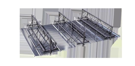 钢筋桁架楼承板图片