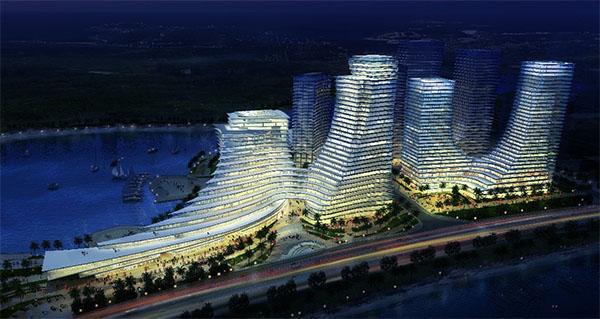 厦门东南航运AB栋-钢筋桁架楼承板项目