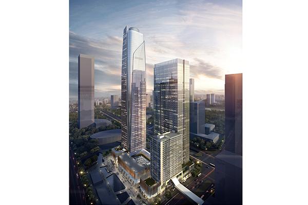 广州金融城汇金中心-钢筋桁架楼承板项目