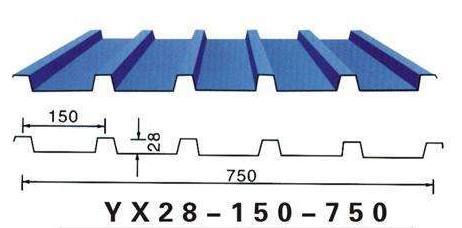 YX28-150-750型彩钢板