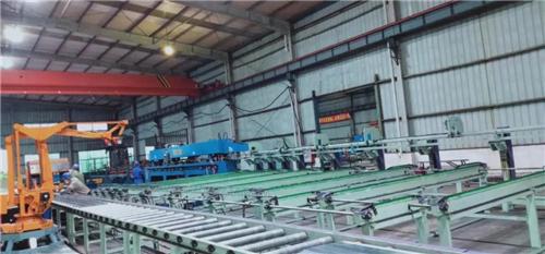 钢筋桁架楼承板生产基地