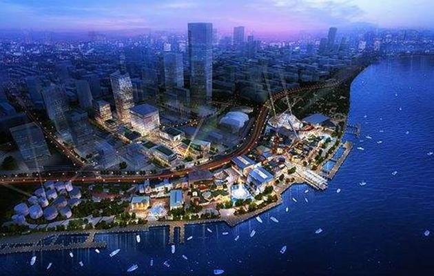 上海徐汇滨江二层平台